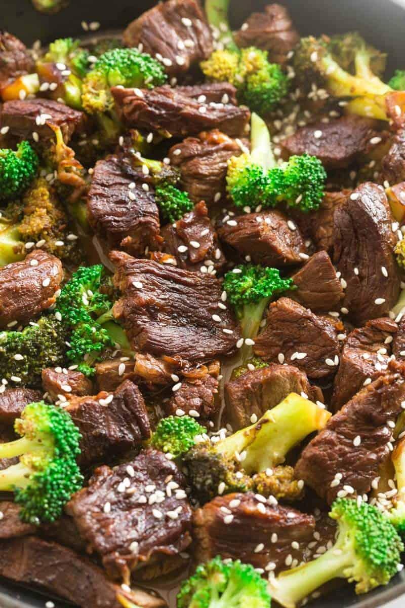 keto beef broccoli stir fry