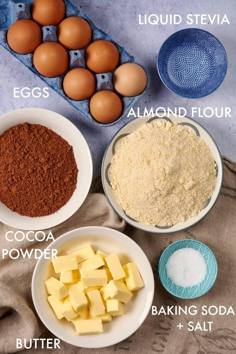 keto chocolate cake ingredients