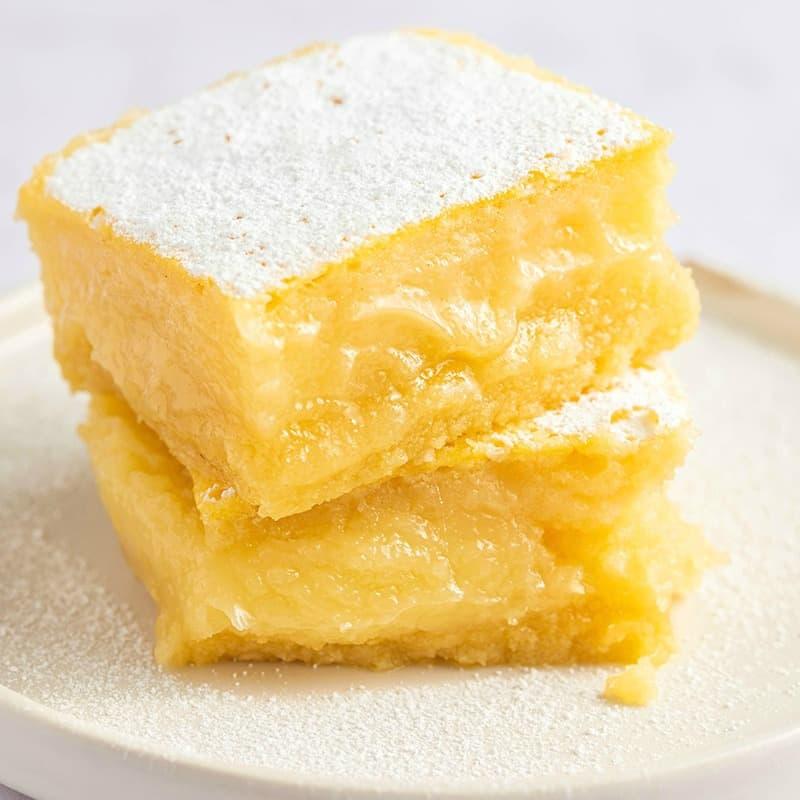 recipe keto lemon dessert Keto Lemon Bars