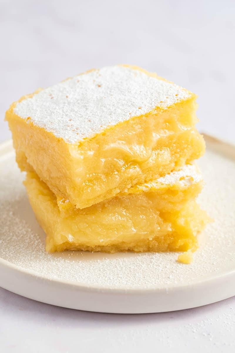 Keto Lemon Bars Just 6 Ingredients The Big Man S World