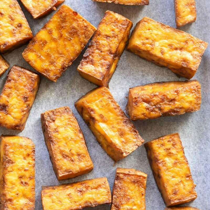 Crispy Baked Tofu Keto And Vegan The Big Man S World