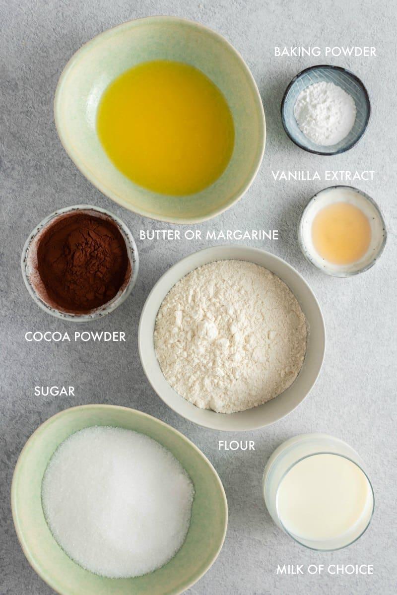 pudding cake ingredients