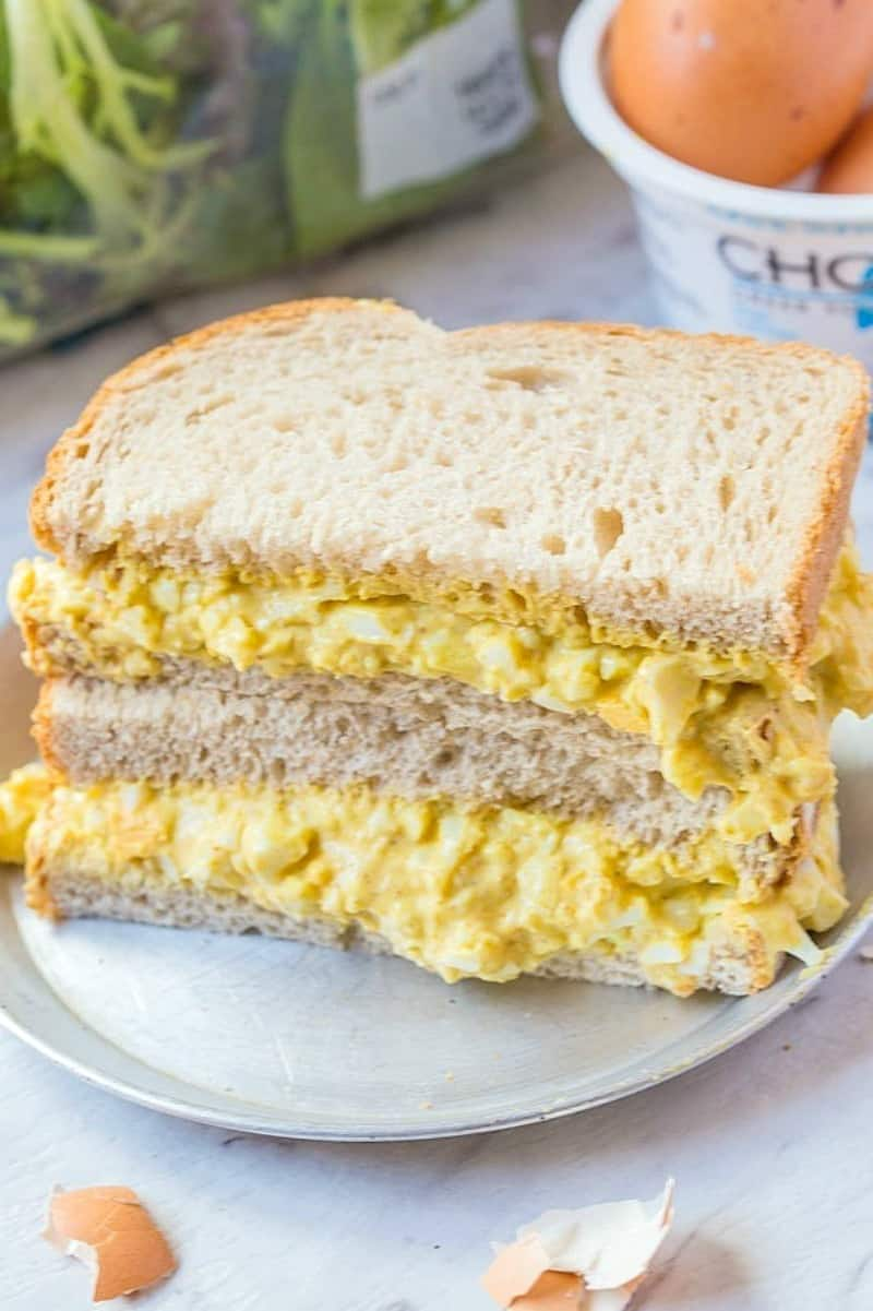 keto egg salad sandwich