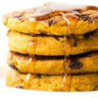 vegan gluten free pumpkin pancakes