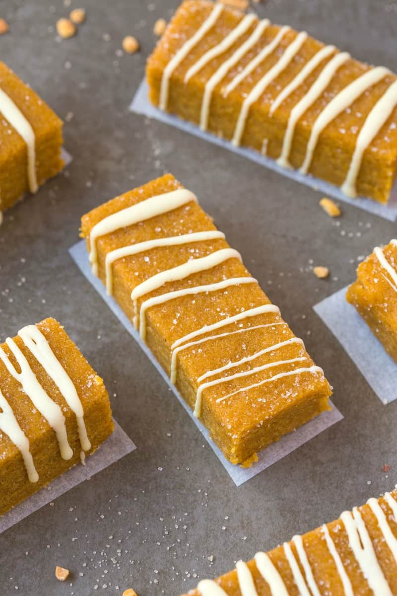 pumpkin pie protein bars