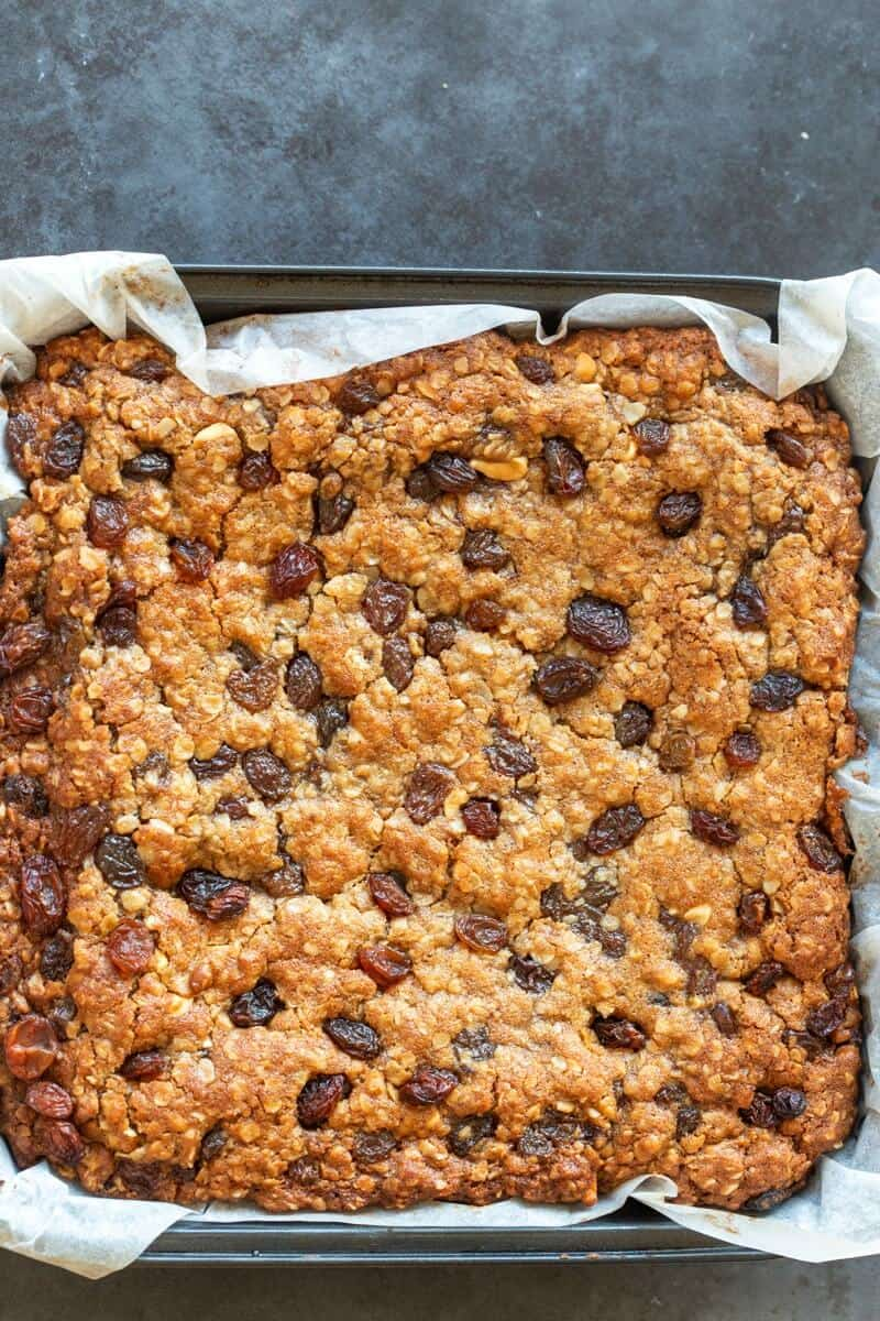 oat and raisin bars
