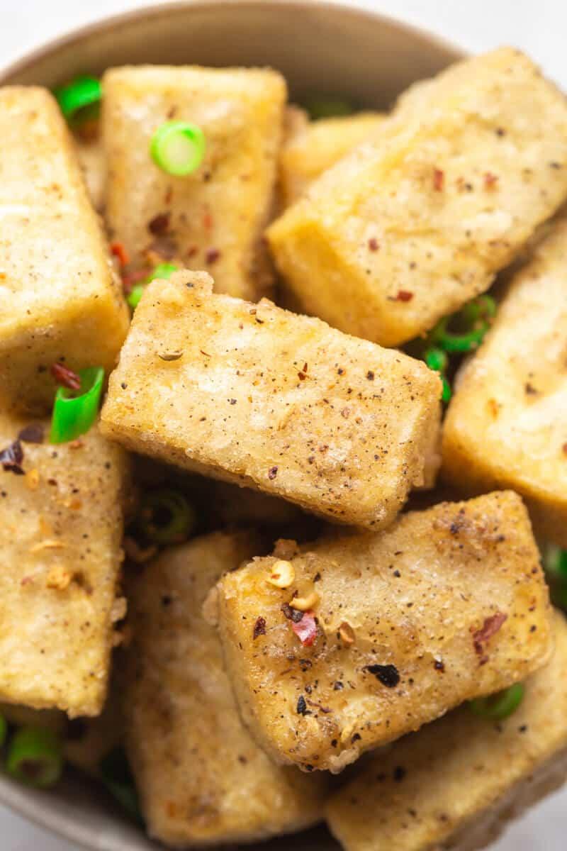 salt pepper tofu