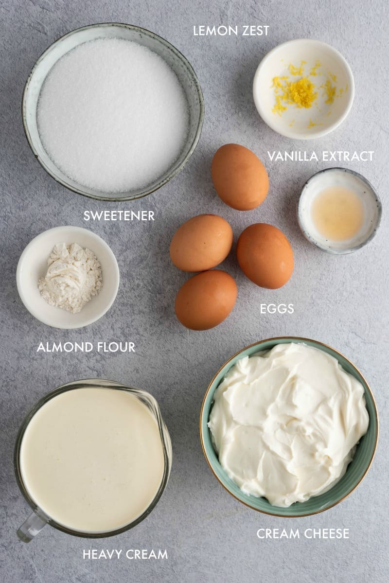 basque cheesecake ingredients