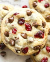 keto cranberry cookies