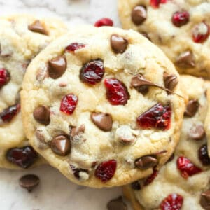 keto cranberry cookies