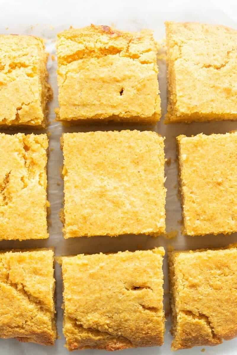 sugar free cornbread