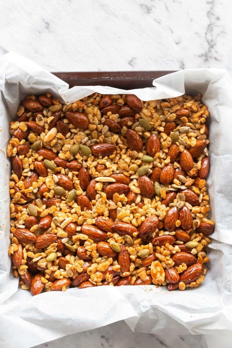 keto granola bar recipe