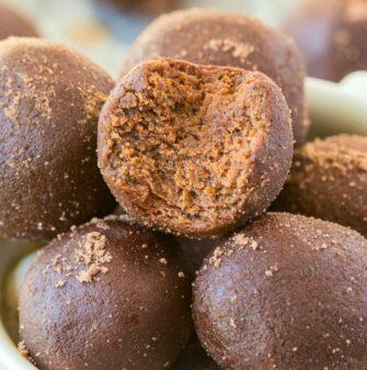 mint protein balls