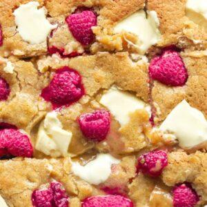 raspberry blondies recipe