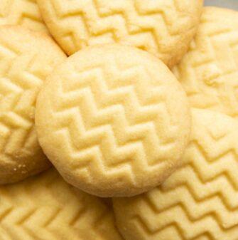 vegan shortbread cookies