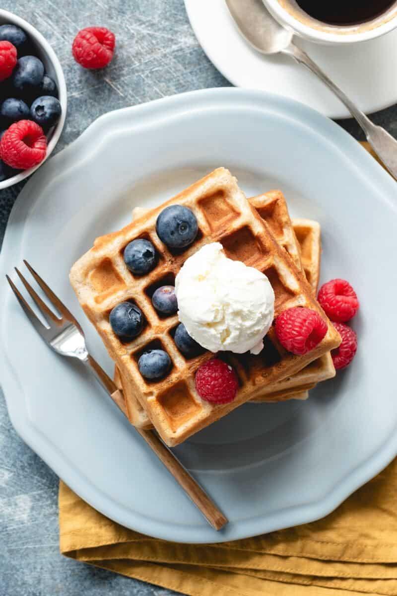 almond flour waffle recipe