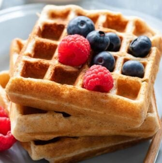 almond meal waffles