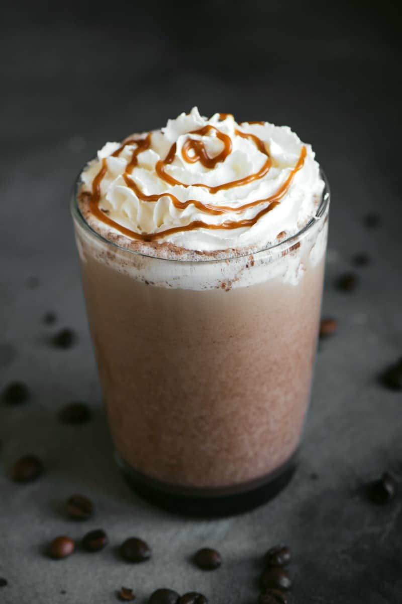 low carb frappuccino