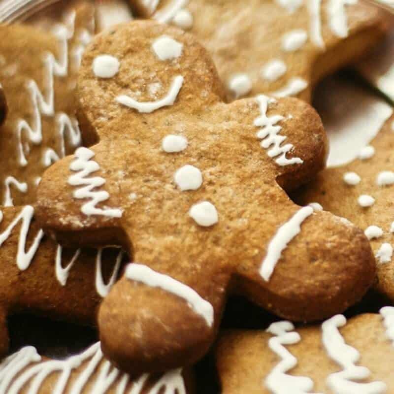 Keto Gingerbread Cookies Just 2 Grams Carbs The Big Man S World