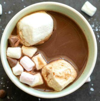 keto friendly hot chocolate