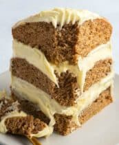 vegan snickerdoodle cake