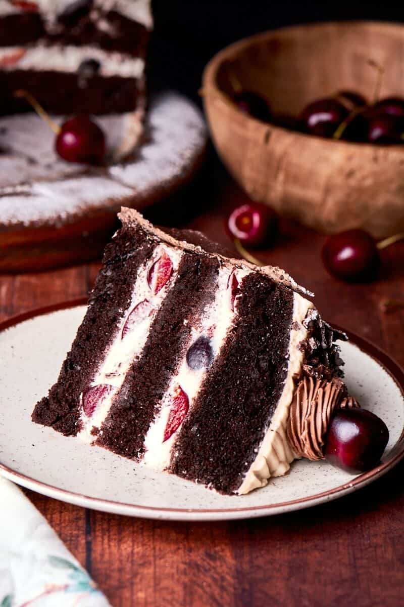 black forest cake gateaux