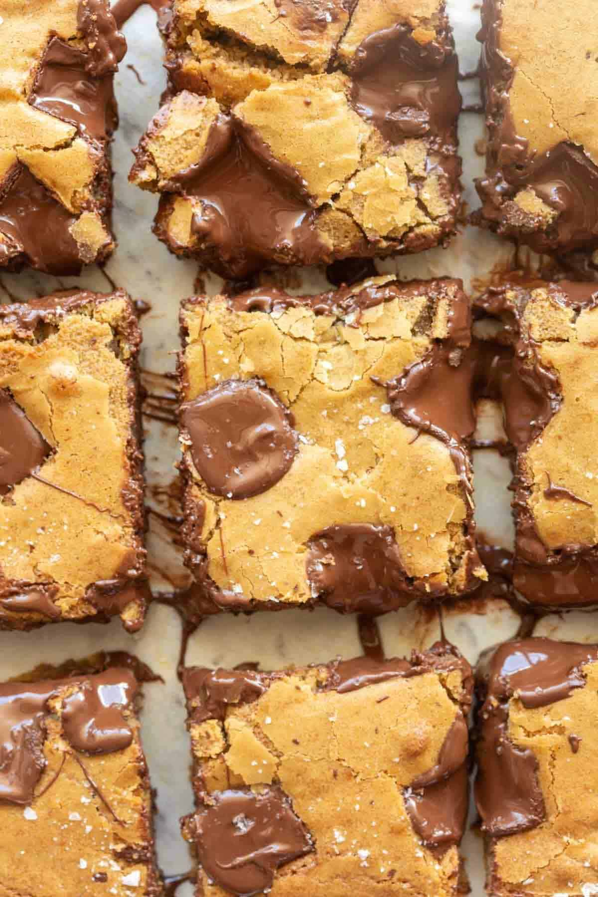 vegan gluten free cookie bars