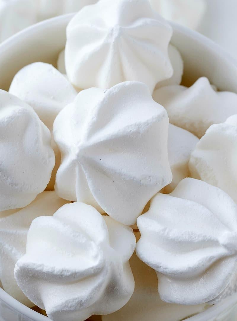 egg free meringue