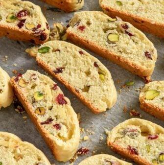 almond flour biscotti
