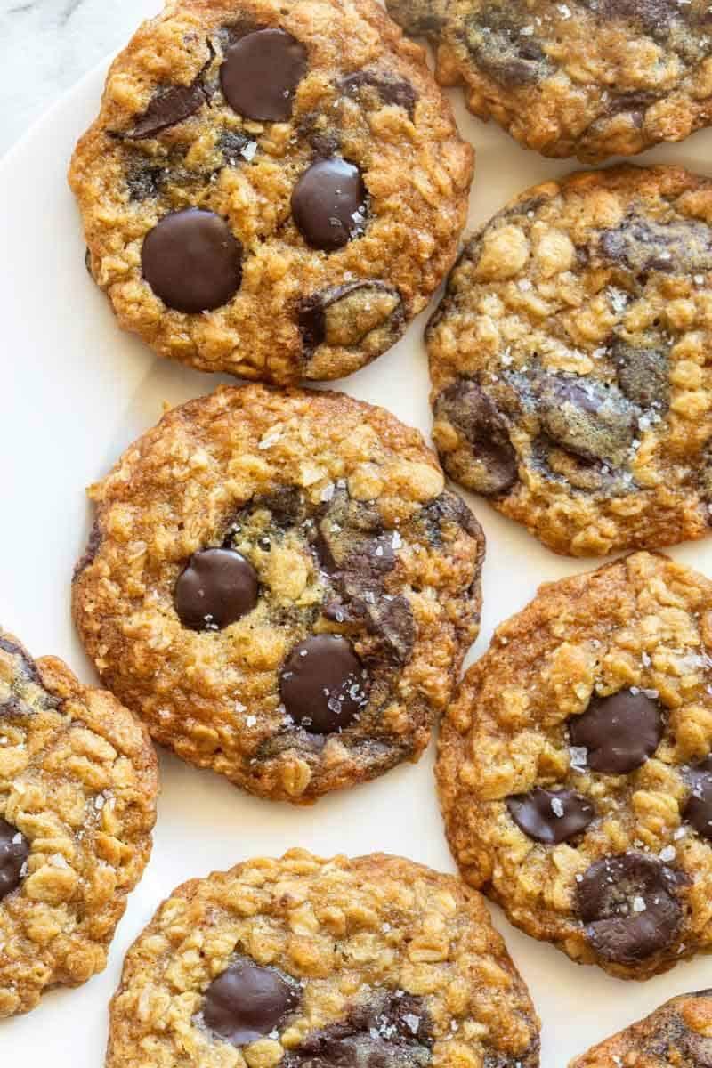 almond meal oatmeal cookies