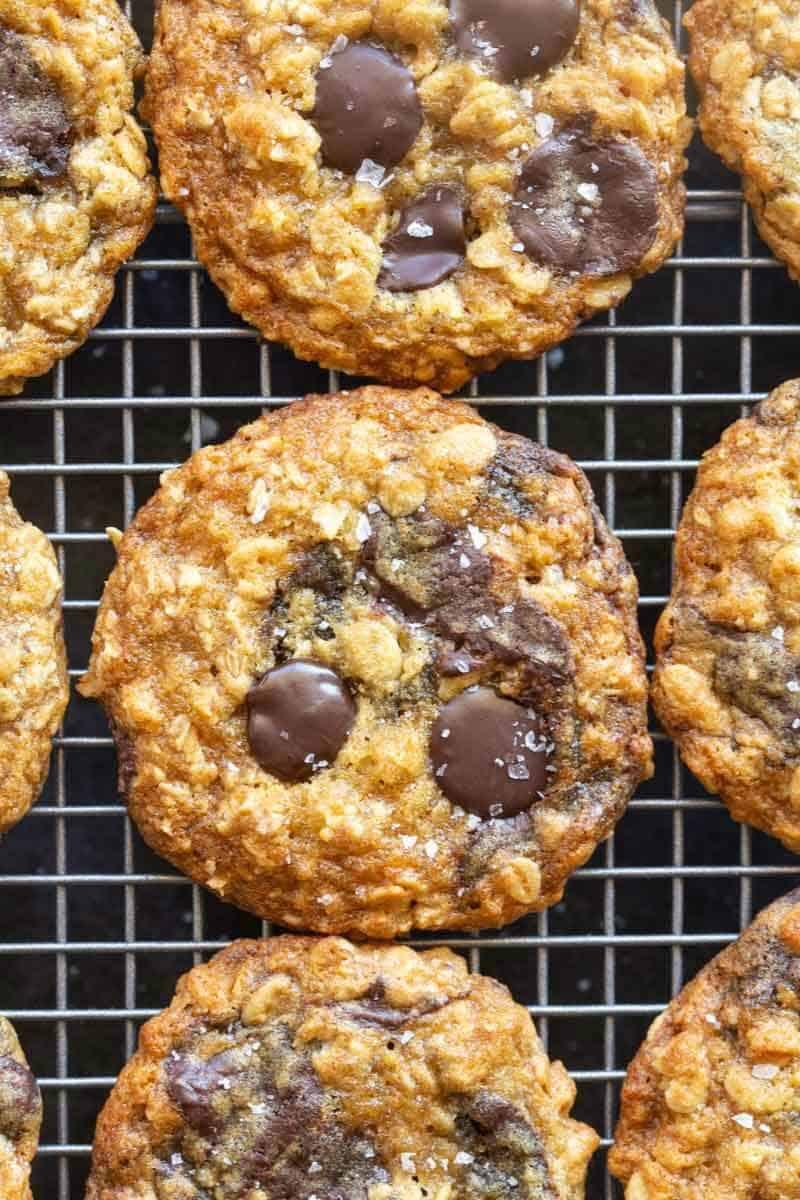 almond flour oat cookies