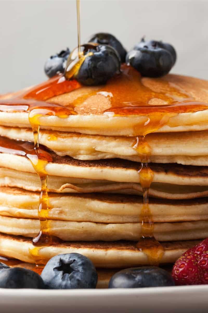 healthy oat pancakes