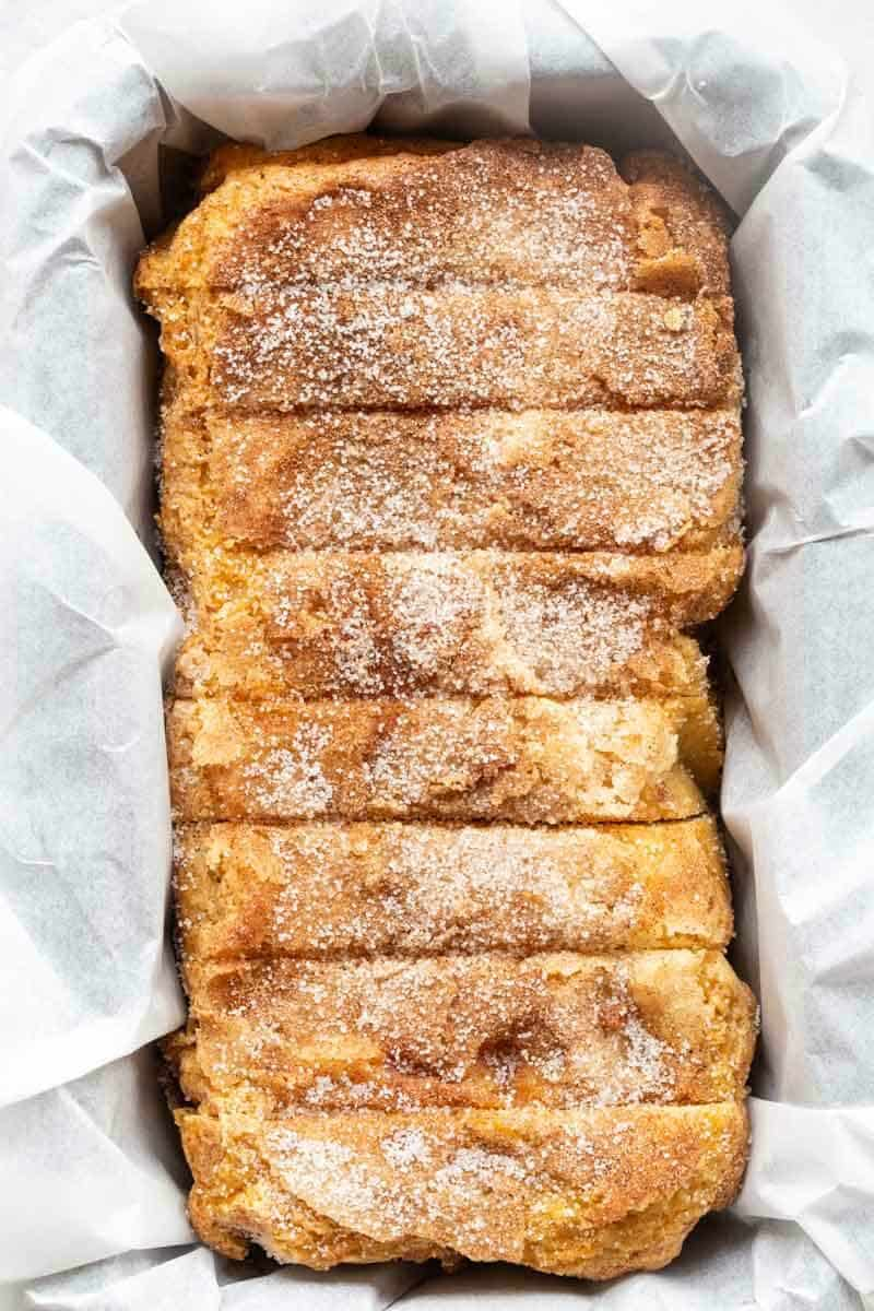 low carb cinnamon bread