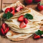 keto almond flour crepes