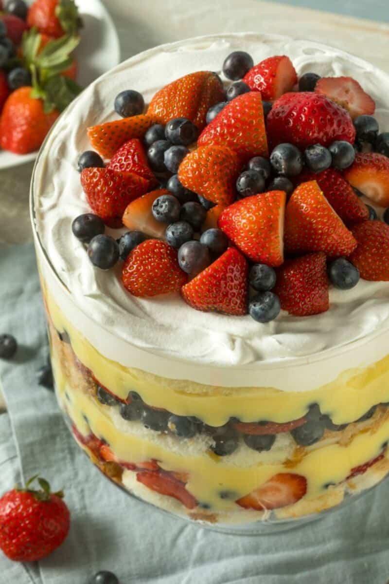 keto trifle