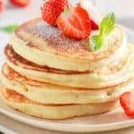 almond milk pancakes