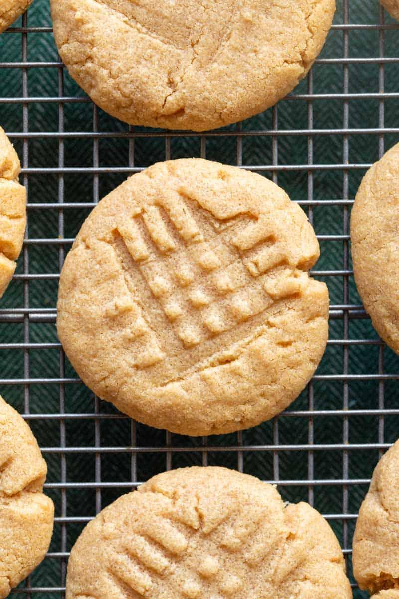 coconut flour peanut butter cookies