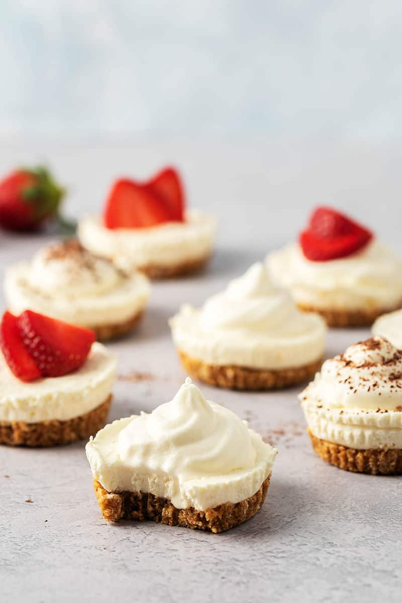 low carb cheesecake bites