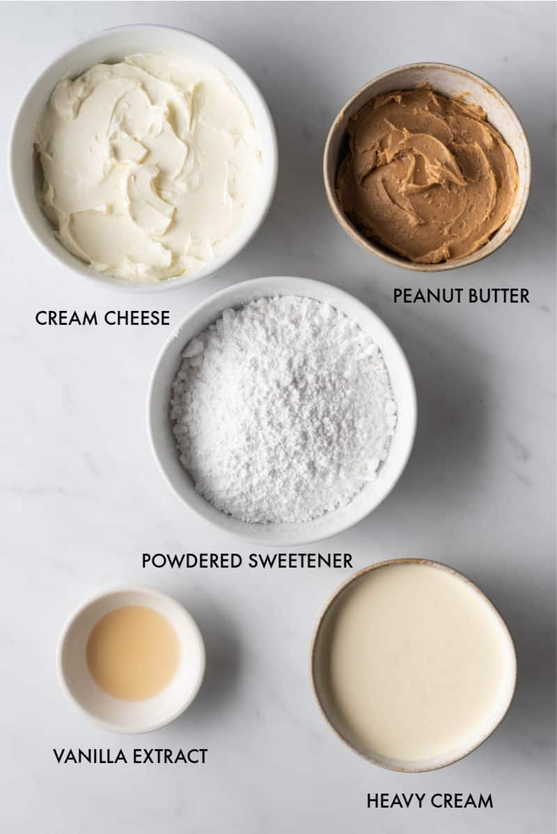 peanut butter mousse ingredients