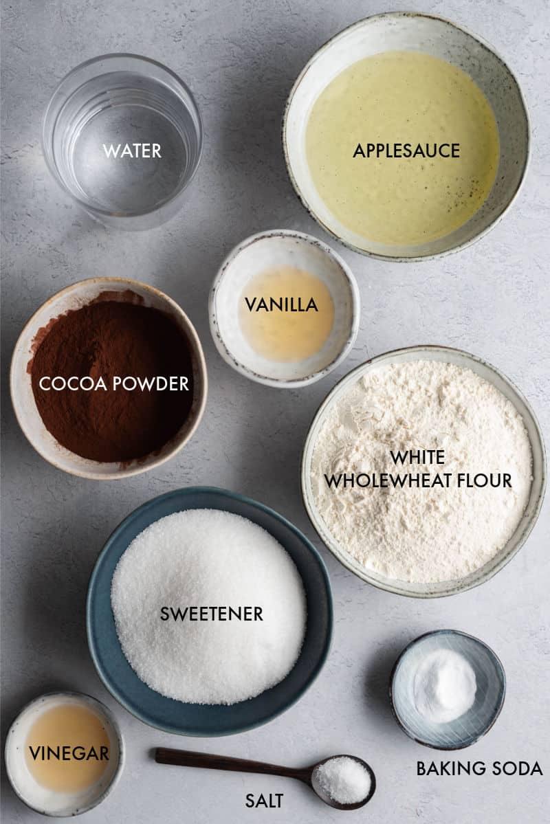 healthy cupcakes ingredients