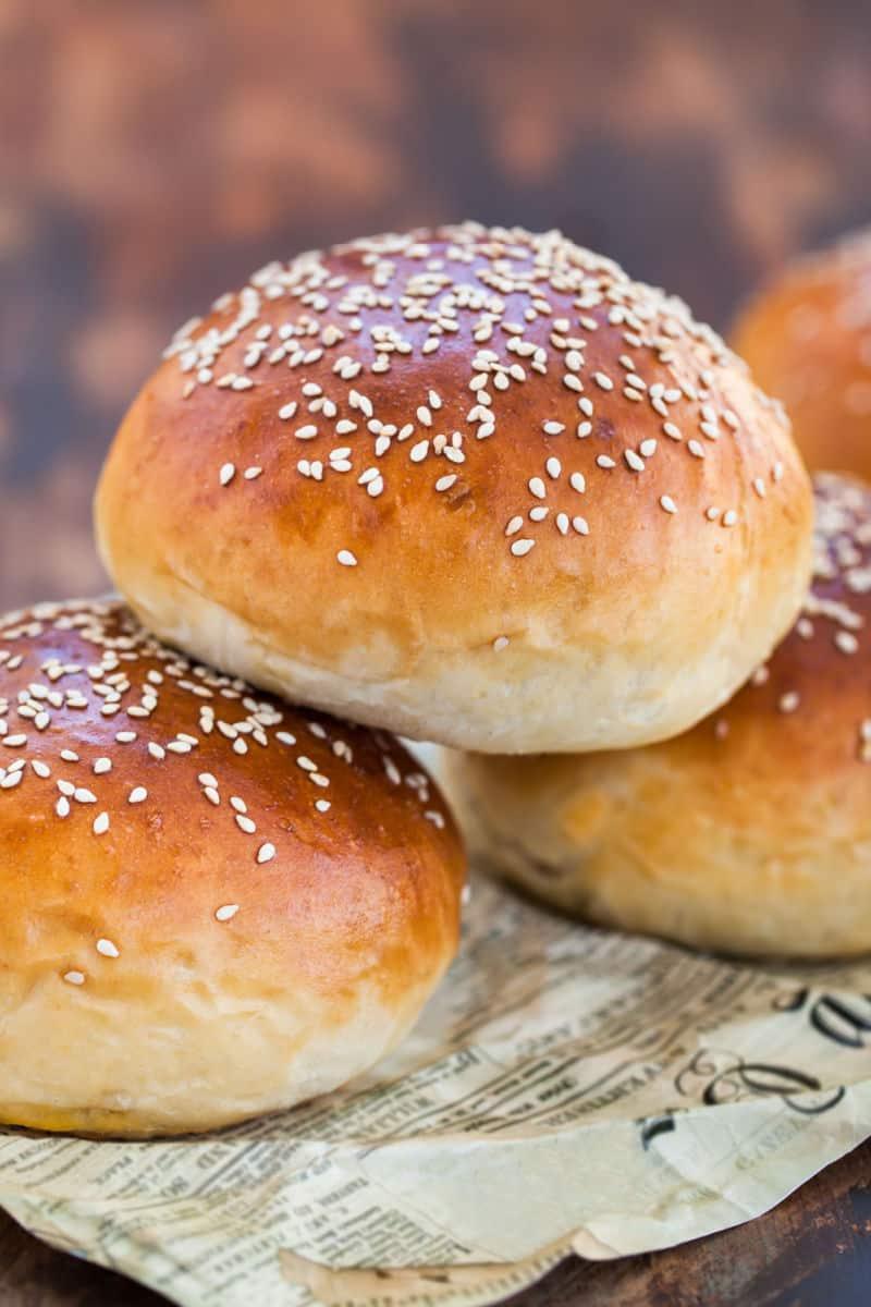 low carb hamburger buns