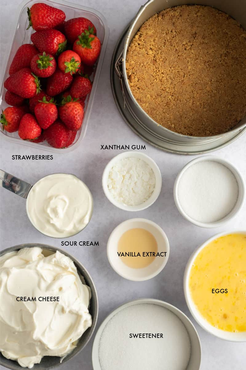 strawberry cheesecake ingredients