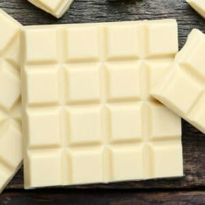 sugar free white chocolate