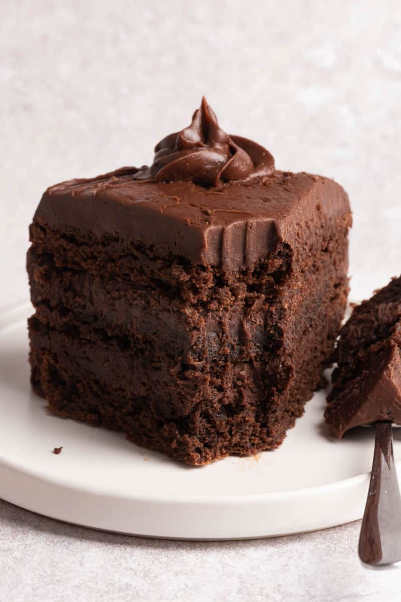 chocolate cake with coconut flour