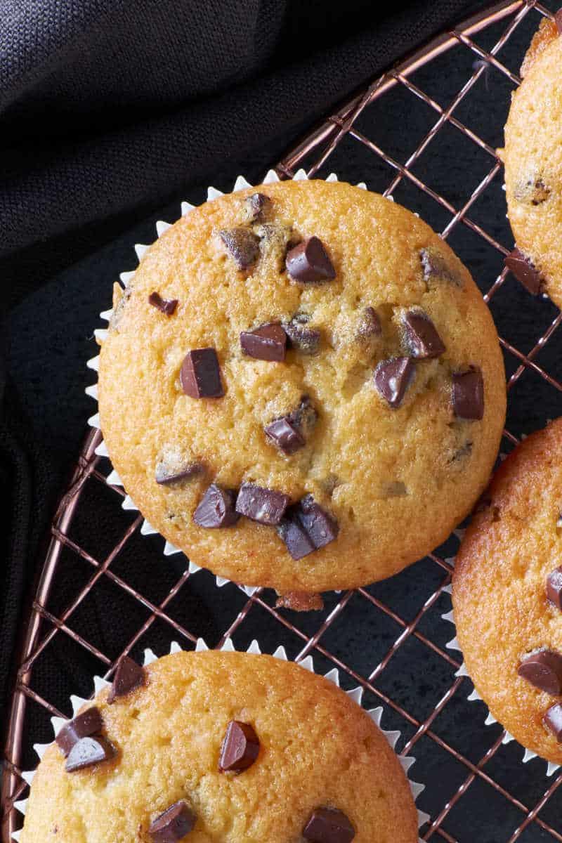 almond flour chocolate chip muffins