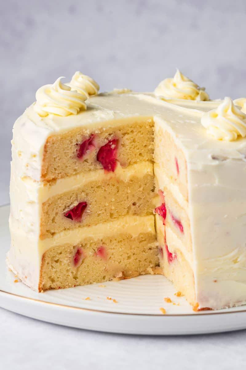 low carb strawberry cake