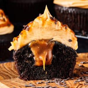 Biscoff cupcakes
