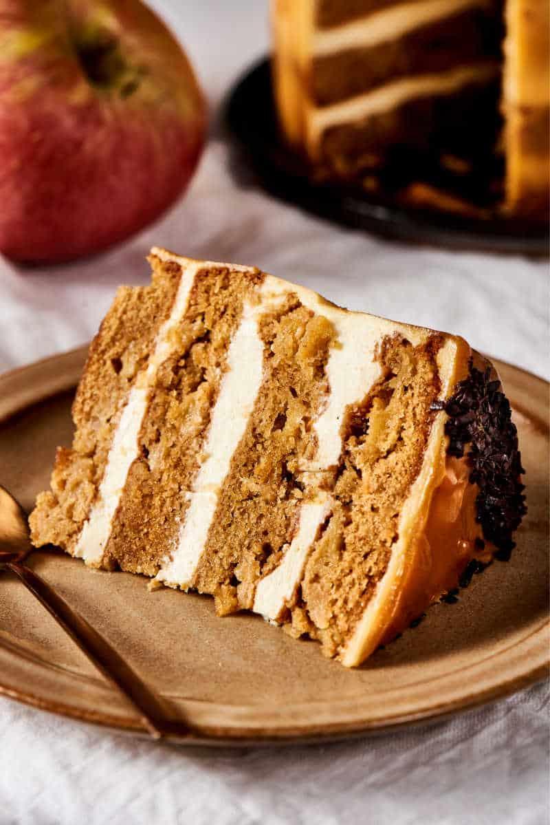 low calorie apple cake