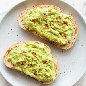 keto avocado toast