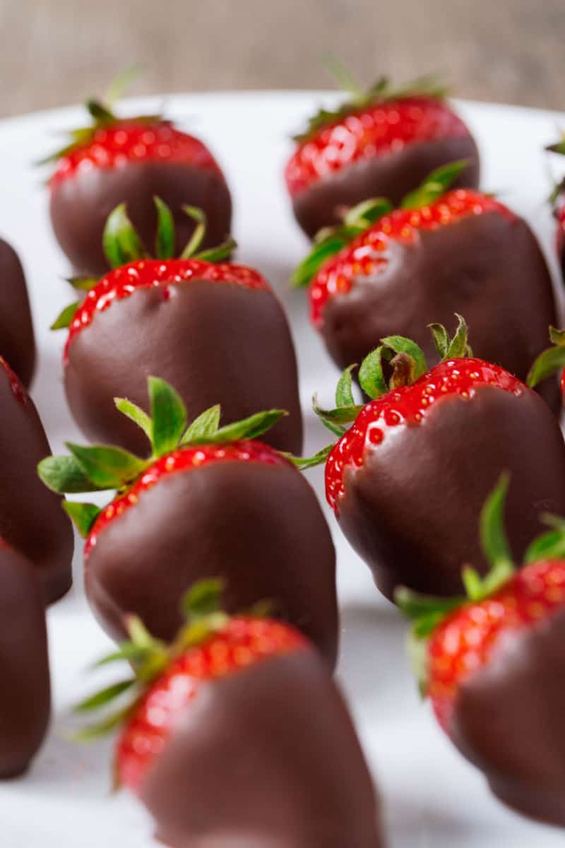low carb chocolate covered strawberries
